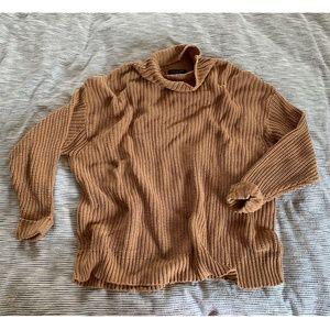 American Eagle Oversized Turtleneck Sweater